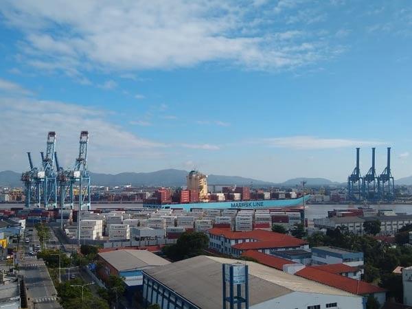 UWL-Brazil-Barbara-Interview-View-of-Port-of-Itajai-from-Brazil-Office