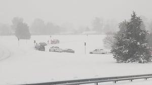 Winston-Salem+snow+@AaronRigsbyOSC